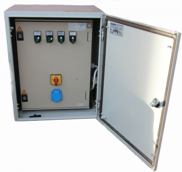 SwissBioPool Elektrokasten